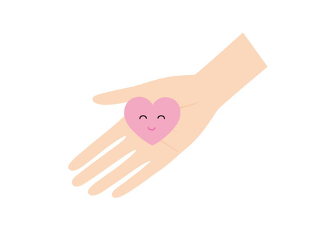 拿著心臟的手