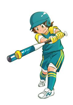 Softball batting 02