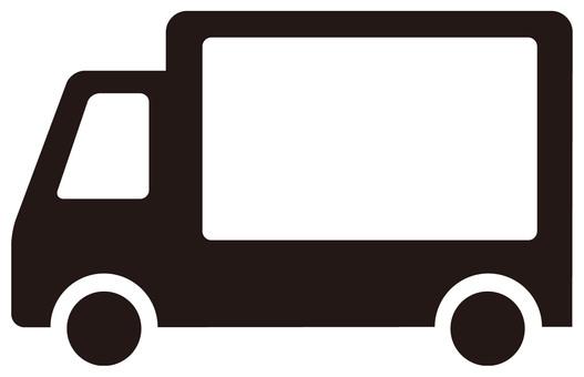 Shipment OK icon · Track 【Silhouette】