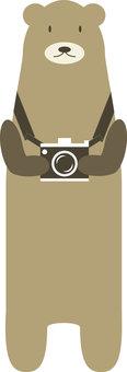Animals 028 (Camera and bear)