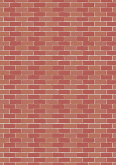 Brick wall (vertical)