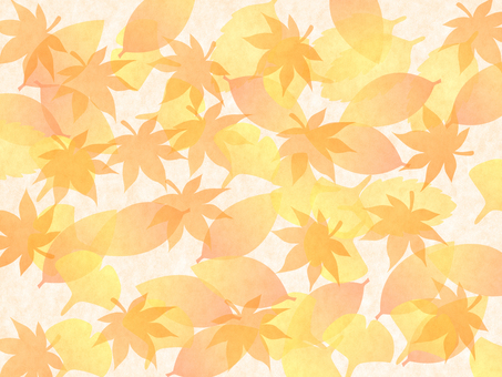 A lot of fallen leaves ~ ♪