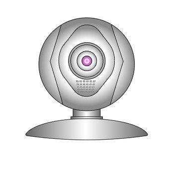 Web camera (silver)