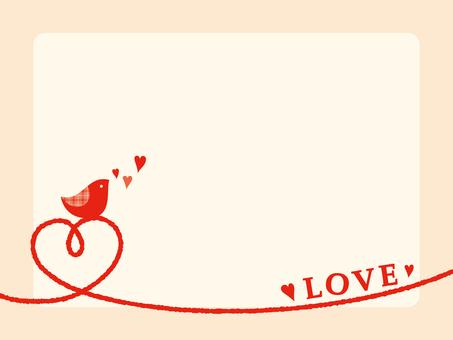 Bird message card