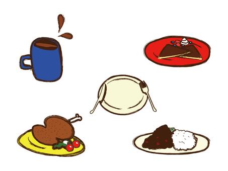 菜餚和菜餚