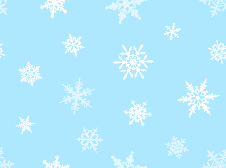 Snow crystal pattern