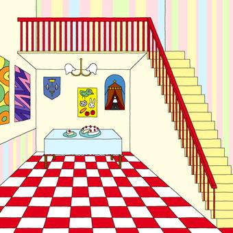 帶樓梯的房間