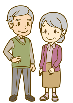 Family: A_Old Couple_笑颜01FS