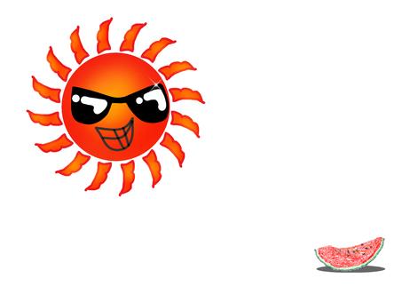 The sun and watermelon 2