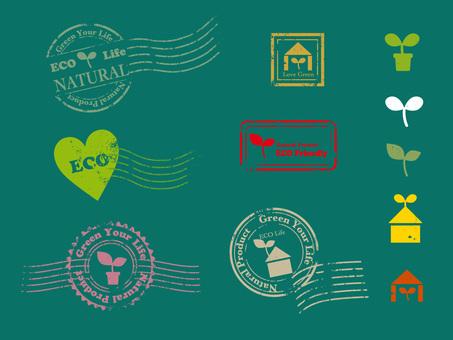 Eco postmark