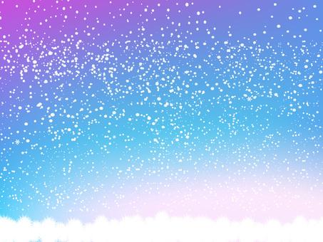 Glittering winter texture