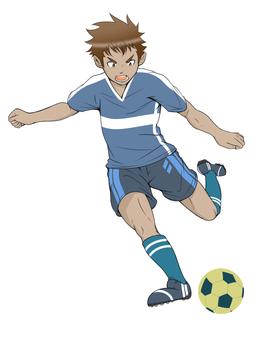 サッカー2(背景なし)