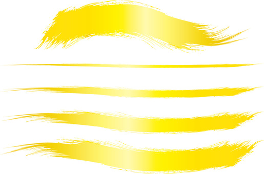 Gold gold brush writing brush character Japanese style background picture