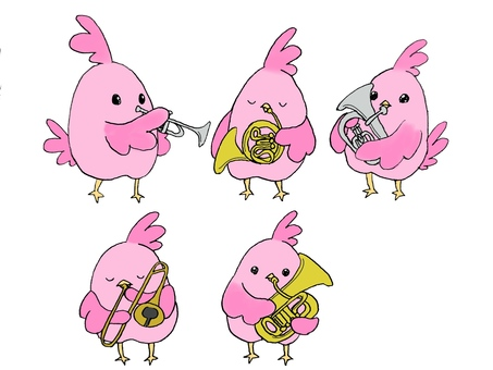 Birds and instruments [Brass instrument edition]