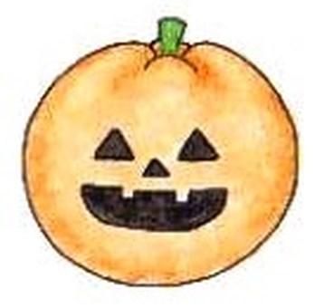 Halloween: pumpkin lantern