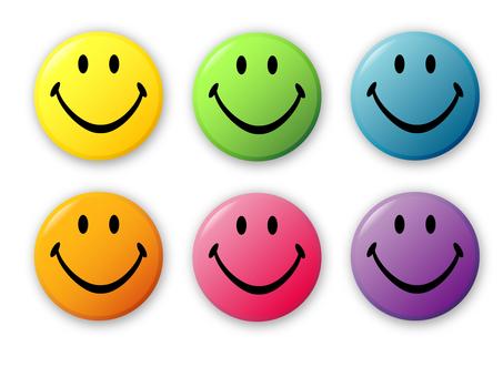 Smiley mark set