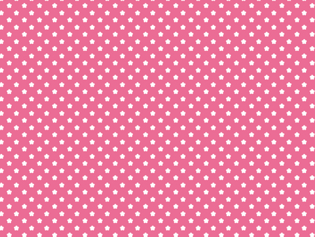 Flower Dot Pink Pattern