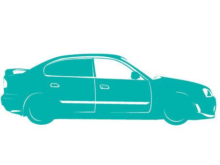 Car sideways