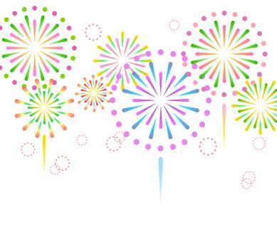 70704. Fireworks 7