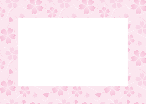 벚꽃 프레임
