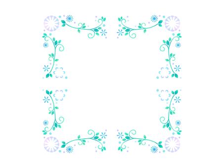 작은 꽃 프레임 29