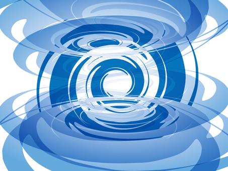 Swirl (blue)