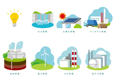 Various power generation