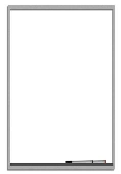 White board (vertical / monotone)