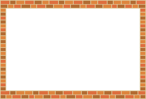 Simple brick-like frame 2