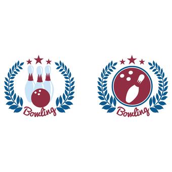 Bowling emblem