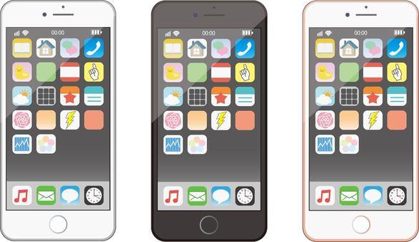 아이폰 iPhone 배경 화면