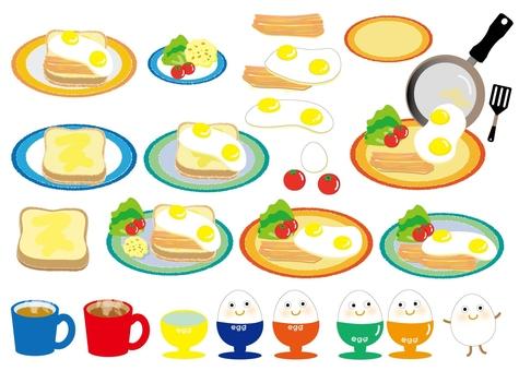 Kitchen breakfast set - plain