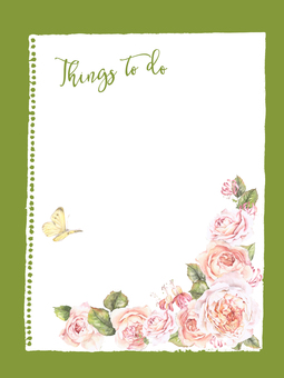 Listings to do List 9 - List of big roses