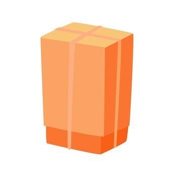 移動 - 一個大紙箱(棕色)