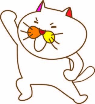 Motivation of a funny cat Tamako
