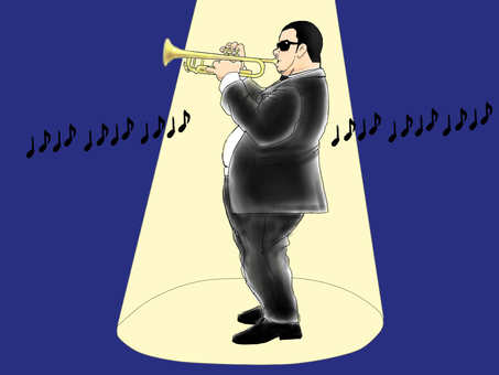 Sunglasses trumpeter