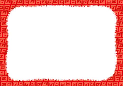 천둥 紋 벽지 03