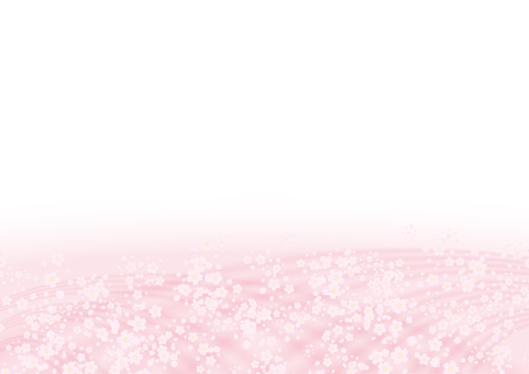 Cherry blossoms bloom frame spring pink
