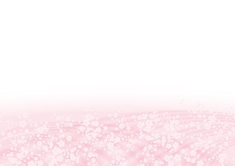 사쿠라 꽃 프레임 봄 핑크
