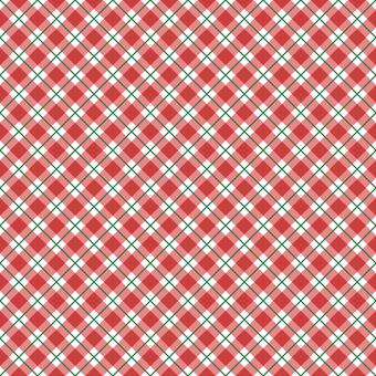 背景-チェックパターン1・xmas