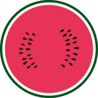 Food series Fruit watermelon 3