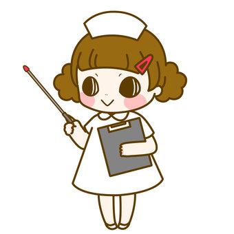 간호사 짱 지시봉 안내