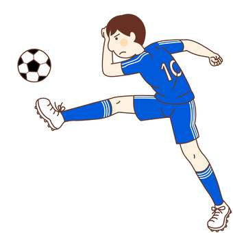 Soccer player (male)