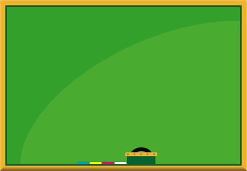 Blackboard frame frame rectangular size