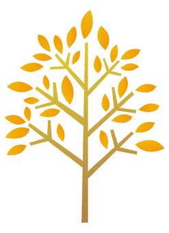 Tree _ autumn leaves