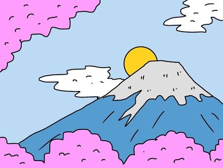Wallpaper Fuji