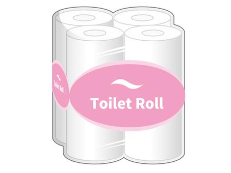 Toilet paper pack