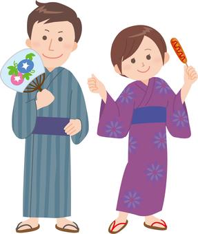 Yukata's men and women (fair)