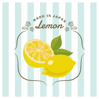 Fashionable lemon