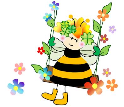 Fairy _ bee _ swing